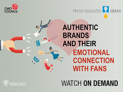 Custom Webcast Graphic for Authentic Brand and their Emotional Connection with Fans
