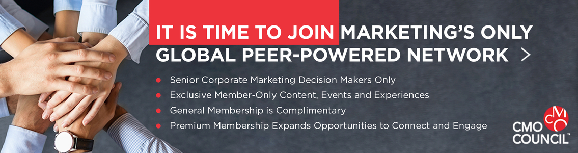 Become a member of the Chief Marketing Officer (CMO) Council