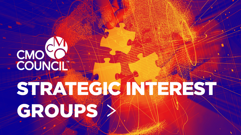 CMO Council Strategic Interest Groups