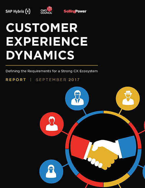 Report Cover for Customer Experience Dynamics
