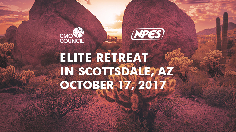 CMO Council and NPES host Elite Retreat Graphic